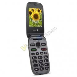 "TELEFONO MOVIL SENIOR DORO 6030 2,4"" DORADO T0.3MPX - Imagen 1"