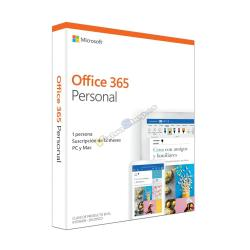 SOFTWARE MICROSOFT OFFICE 365 PERSONAL (FPP) - Imagen 1