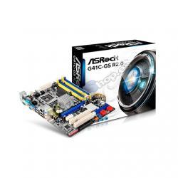 PLACA BASE ASROCK 775 G41C-GS R2.0 - Imagen 1