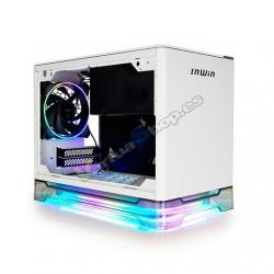 TORRE MINI ITX 650W IN WIN A1 PLUS BLANCO - Imagen 1