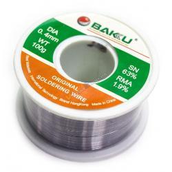 Estaño 0.4mm BAKU-100gA Alta Calidad - Imagen 1