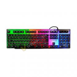 TECLADO THE G-LAB GAMING KEYZ-NEON/PT MULTICOLOR - Imagen 1