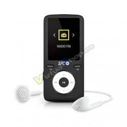 MP4 8GB SPC PURE SOUND COLOUR 2 NEGRO - Imagen 1