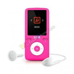 MP4 8GB SPC PURE SOUND COLOUR 2 ROSA - Imagen 1