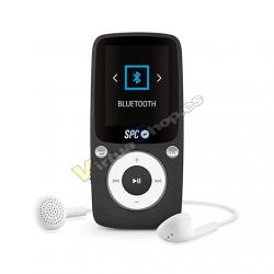MP4 8GB SPC PURE SOUND BLUETOOTH 2 NEGRO - Imagen 1