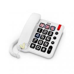 TELEFONO FIJO SPC COMFORT NUMBERS BLANCO - Imagen 1