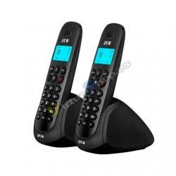 TELEFONO INALAMBRICO DECT DIGITAL SPC ART DUO NEGRO - Imagen 1