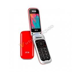 MOVIL SMARTPHONE SPC VELVET ROJO - Imagen 1