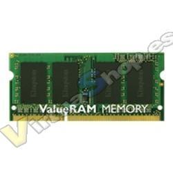 MODULO MEMORIA RAM S/O DDR3 4GB PC1333 KINGSTON SR RET (POR - Imagen 1