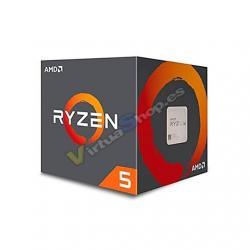 PROCESADOR AMD AM4 RYZEN 5 1600 6X3.6GHZ/19MB BOX - Imagen 1