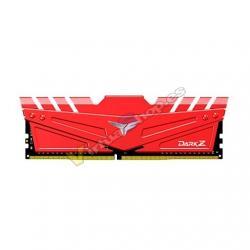 MODULO DDR4 16GB 3200MHz TEAMGROUP DARK Z ROJO CL 16/1.35V - Imagen 1