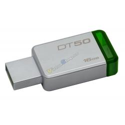 PENDRIVE 16GB USB 3.1 KINGSTON DT50 VERDE - Imagen 1