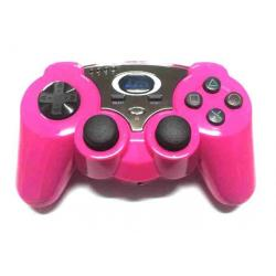 PS3 DUAL WIRELES COLOR ROSA USB GAP COMPATIBLE PC Y PS3