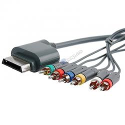 XBOX 360 CABLE COMPONENTES Y VIDEO COMPUESTO RCA