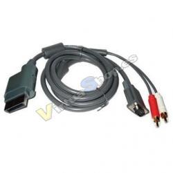 Cable VGA+2 RCA X-Box 360