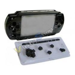 Carcasa Completa PSP Negra - Imagen 1