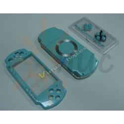 Carcasa Completa PSP SLim Celeste - Imagen 1