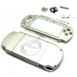 Carcasa Completa PSP SLim Oro - Imagen 1
