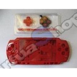 Carcasa Completa PSP SLim Roja - Imagen 1
