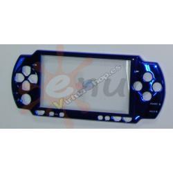 CARCASA FRONTAL PSP SLIM AZUL - Imagen 1