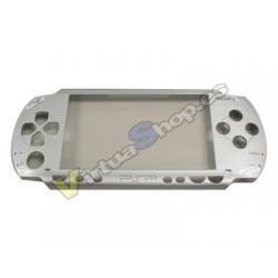 CARCASA FRONTAL PSP SLIM PLATA - Imagen 1