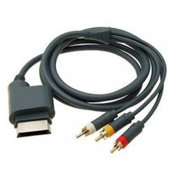 XBOX360 CABLE RCA VIDEO/AUDIO VIDEO COMPUESTO