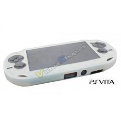 Funda Silicona PS Vita Blanca - Imagen 1