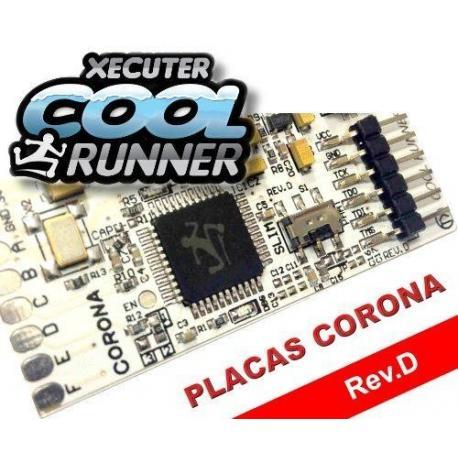 XBOX 360 XECUTER COOLRUNNER Rev D (Placas Corona) CON OSCILADOR