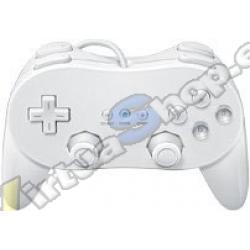 Mando Clasico Pro Wii Blanco Comp. - Imagen 1