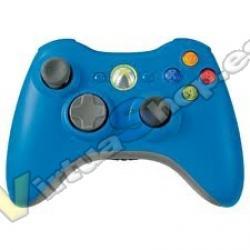 Mando Inalambrico XBOX360 Azul - Imagen 1