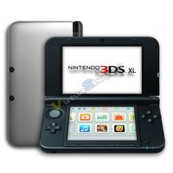 Nintendo 3DS XL Plata - Imagen 1