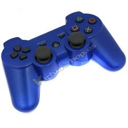 PS3 DUALSHOCK 3 AZUL BLUETOOTH ALTA CALIDAD COMPATIBLE