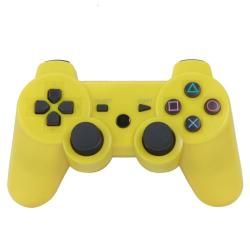 PS3 DUALSHOCK 3 AMARILLO BLUETOOTH ALTA CALIDAD COMPATIBLE