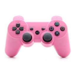 PS3 DUALSHOCK 3 ROSA BLUETOOTH ALTA CALIDAD COMPATIBLE