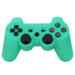 PS3 DUALSHOCK 3 VERDE BLUETOOTH ALTA CALIDAD COMPATIBLE