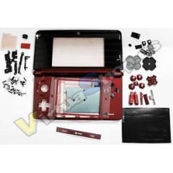 3DS CARCASA COMPLETA ROJA