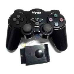 PS2 MANDO DUAL SHOCK INALAMBRICO WIRELESS NEGRO