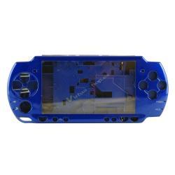 Carcasa Completa PSP SLim Azul - Imagen 1