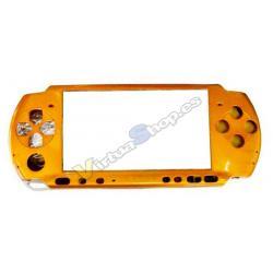 CARCASA FRONTAL PSP SLIM ORO - Imagen 1