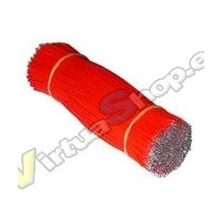 CABLE WRAPPING CORTADO 15 CM Y ESTAÑADO 500 UDS. APROX de 0,25mm (30 awg)