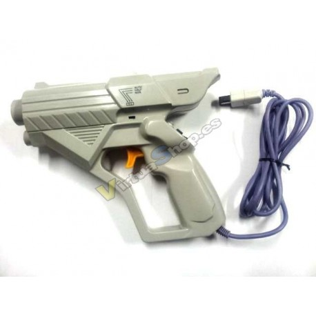 PISTOLA DREAMCAST KC-4801 COMPATIBLE LIGHT GUN (TV CRT TUBO) *NUEVA*