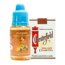 E-Liquid 10ml Chesterfield 12mg - Imagen 1