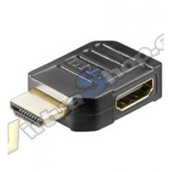 ADAPTADOR HDMI 90º LATERAL GOOBAY - Imagen 1