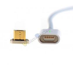CABLE MICRO USB CARGA Y DATOS MAGNETICO IMANTADO