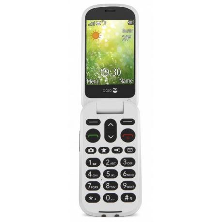 "Doro 6050 2.8"" 111g Oliva, Color blanco Teléfono básico - Imagen 1"