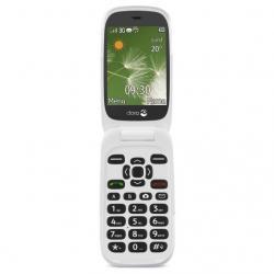 "Doro 6520 2.8"" 108g Grafito, Color blanco Teléfono básico - Imagen 1"