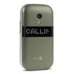 """Doro PhoneEasy 6050 2.8"""" 111g Grafito, Color blanco Teléfono para personas mayores - Imagen 1"""