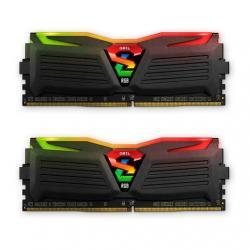 MODULO DDR4 16GB (2X8GB) PC2400 GEIL SUPER LUCE BL - Imagen 1