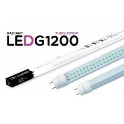 Tubo LED G1200 120CM 18W 6500K Luz Fría 1500LM Radiant LED - Imagen 1