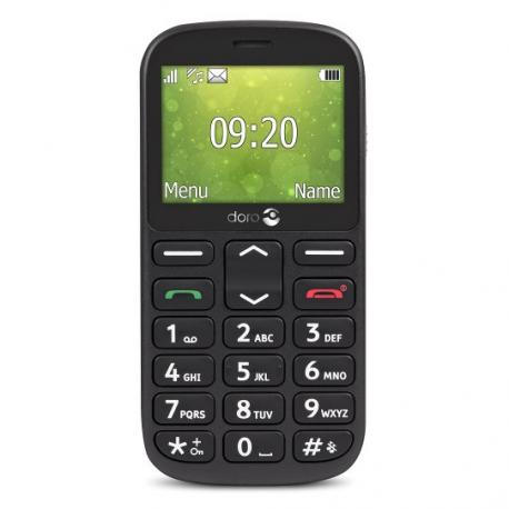 "Doro 1361 2.4"" 96g Negro Característica del teléfono - Imagen 1"